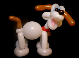 balloon animals dog