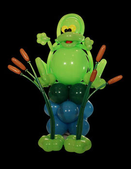 balloon animals frog