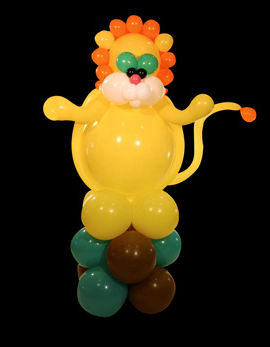 Goofball Balloon Animals, lion