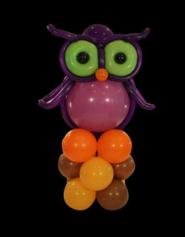 balloon animals owl