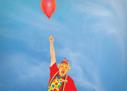 Goofball Balloons at Kids magic show