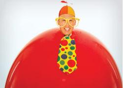 Goofball Balloon at Kids magic show